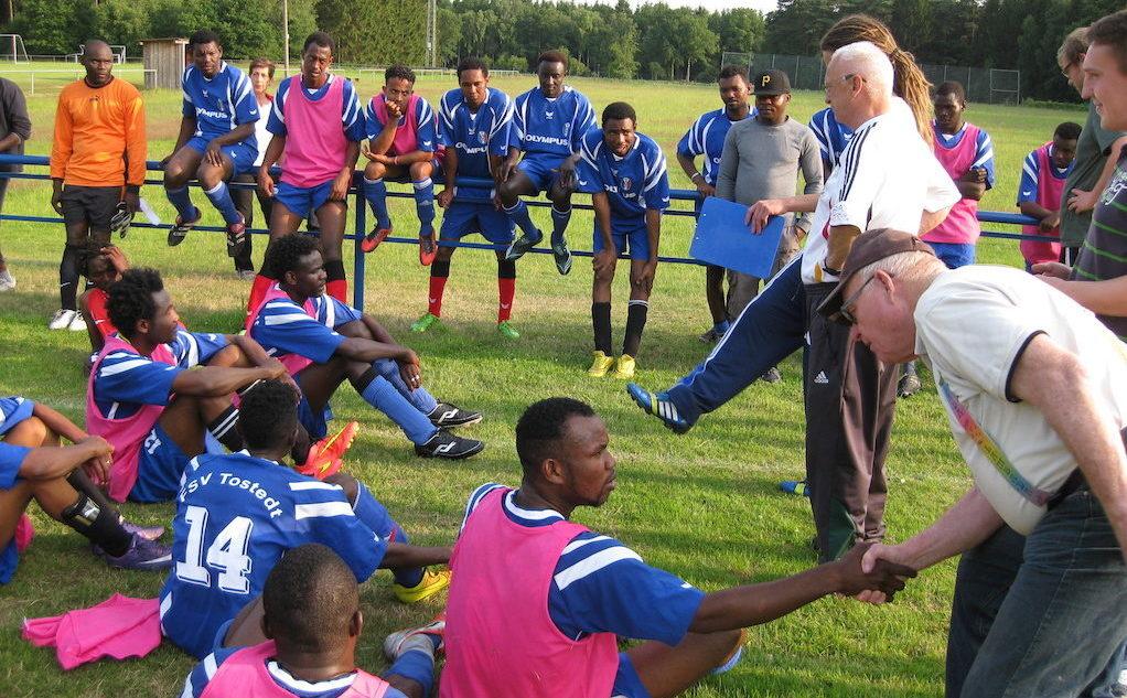 TSV - Flüchtlinge Fußball